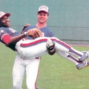 Mark McGwire & Oddibe McDowell of Team USA