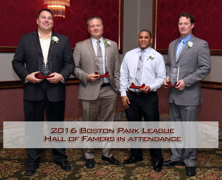 2016 Boston Park League Hall of Famers