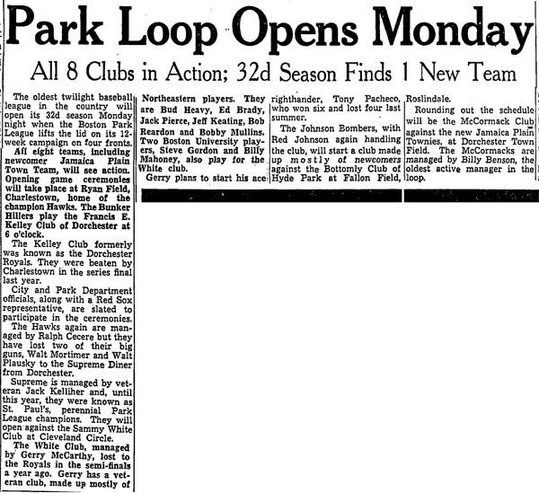 Park Loop Opens Monday