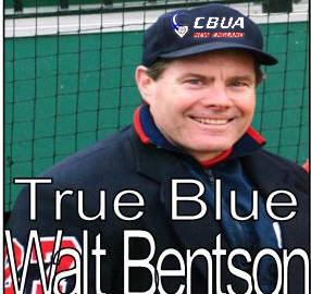 Umpire Walter Bentson