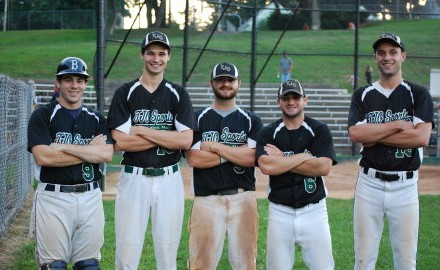 Mansfield players in the Boston Park League