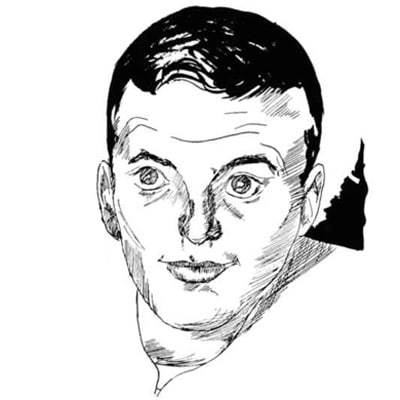 Paul Carey Illustrated in 1956 in The BC Heights Newspaper
