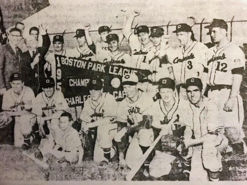 1958 Charlestown Cardinals Champions